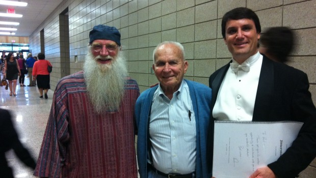Paul Kile Welcomes Composer Dan Kallman and Former EHS Band Director Ed Melachar